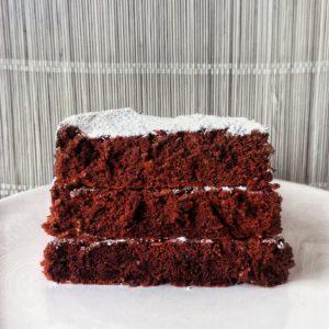 Recette : gâteau chocolat – courgette