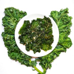 Recette : chips de chou kale