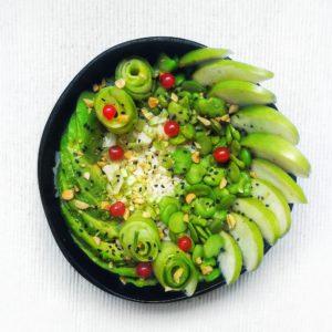 Recette : green bowl