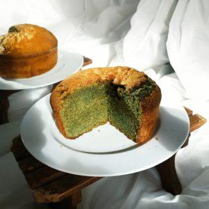 Recette : gâteau moelleux au matcha